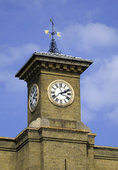 Clock, King's Cross, London (mira66) Tags: london clock station clocktower weathervane kingscross gwuk guessedbymartin97uk