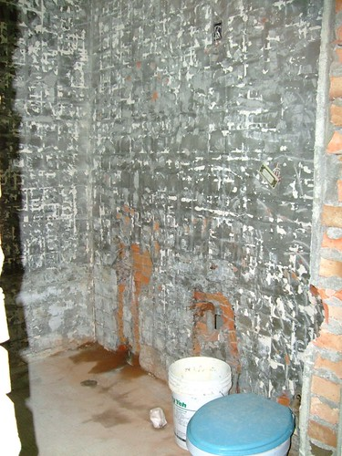 拆除中-浴室