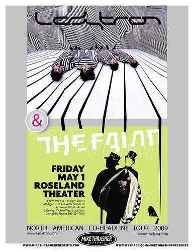 Ladytron & The Faint in Portland