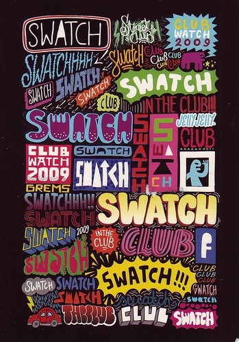 Swatch Club 2009 by LauraMoncur from Flickr