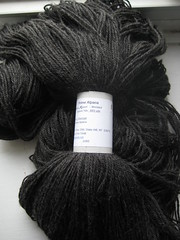 Sportweight alpaca yarn from Times Remembered