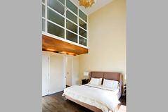 Master suite; loft study overlooks