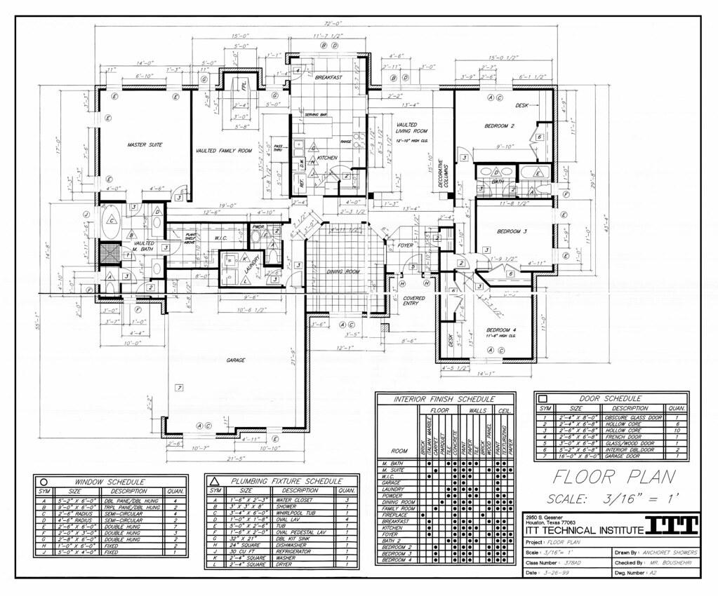 Residential Floor Plan