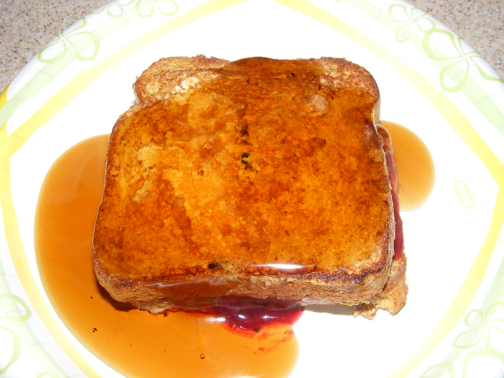 Proof I eat healthy most of the time (#14) - healthy stuffed french toast