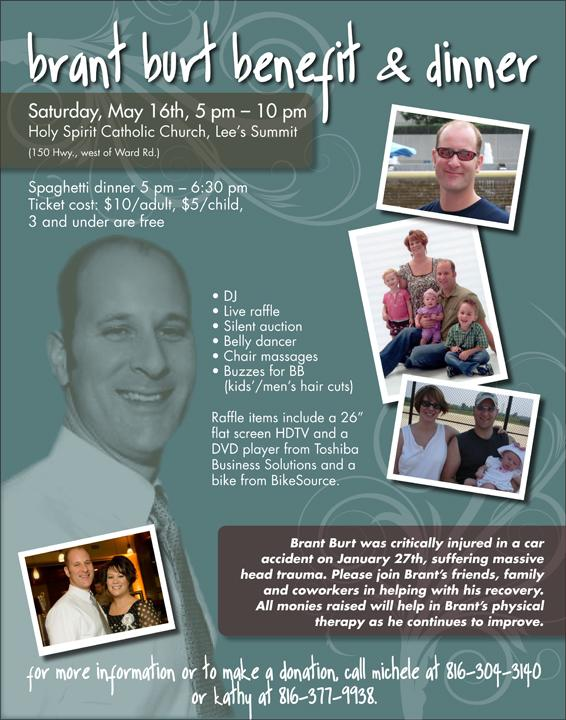 BB benefit Dinner May 16th