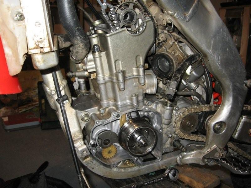 Crank Rebuild Part 2 Finally Crf's Only S. Now We Can Start Torqueing Things Down The Highest Torque Value Is On Main Gear Retaining Bolt Right Side Of Engine Get Someone To Hold. Honda. Honda Crf 250 Engine Diagram At Scoala.co