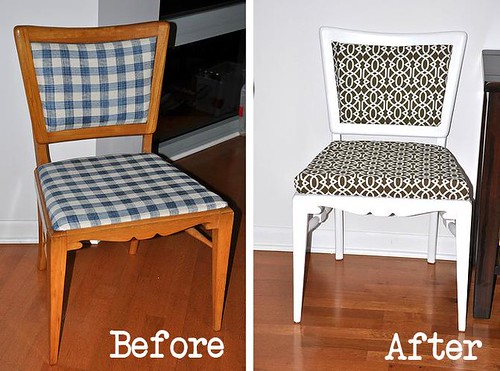 Refurbishing Old Dining Room Chairs