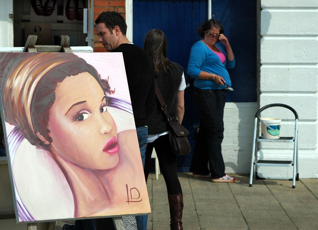 Brighton / East Sussex: selling art, sort of
