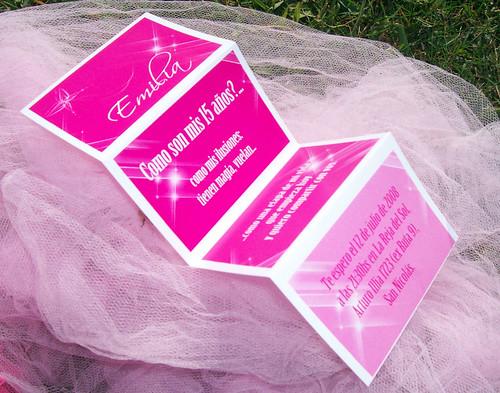 Modernos y originales tarjetas plegables para invitar a la fiesta ...