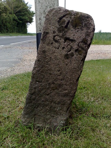 Wacton boundary stone