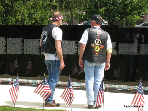 "Vietnam Veterans Memorial ""The Moving Wall"""