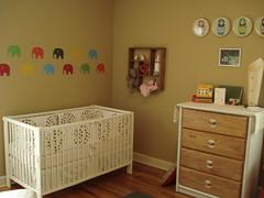 Main nursery (stupid clever) Tags: nursery harpersroom dwellstudioscircles hutchmeetsycom ikeagullivercrib
