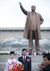 Wedding in Pyongyang - North Korea  (Eric Lafforgue) Tags: pictures photo war asia picture korea kimjongil asie coree northkorea pyongyang dprk coreadelnorte kimilsung nordkorea 2121    coredunord coreadelnord  northcorea coreedunord  insidenorthkorea  rpdc  coriadonorte  kimjongun coreiadonorte
