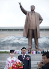 Wedding in Pyongyang - North Korea  (Eric Lafforgue) Tags: pictures photo war asia picture korea kimjongil asie coree northkorea pyongyang dprk coreadelnorte kimilsung nordkorea 2121    coredunord coreadelnord  northcorea coreedunord  insidenorthkorea  rpdc  coriadonorte  kimjongun coreiadonorte