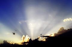 Sunset (uo) Tags: light sunset sky cloud sun ray aaronyendall