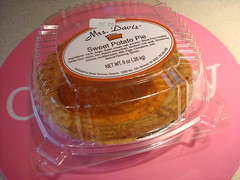 Store bought sweet potato pie