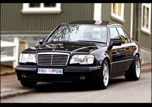 Mercedes Benz E500 W124 - a photo on Flickriver
