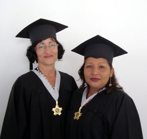 Luz Maria and her friend, Ada