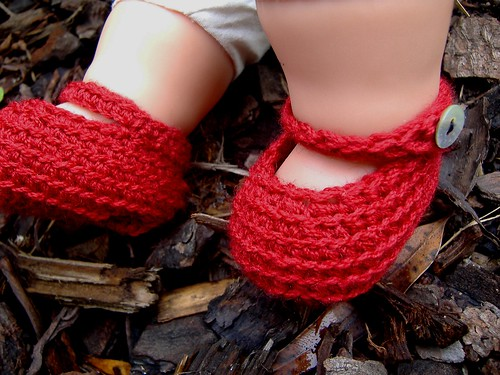 peek-a-boo booties