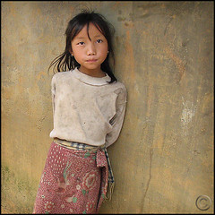 My name is Mu (NaPix -- (Time out)) Tags: portrait black girl face asia vietnam explore sapa hmong canong6 500x500 explored napix winner500