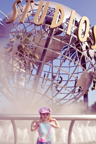 Chloe at Universal Studio's