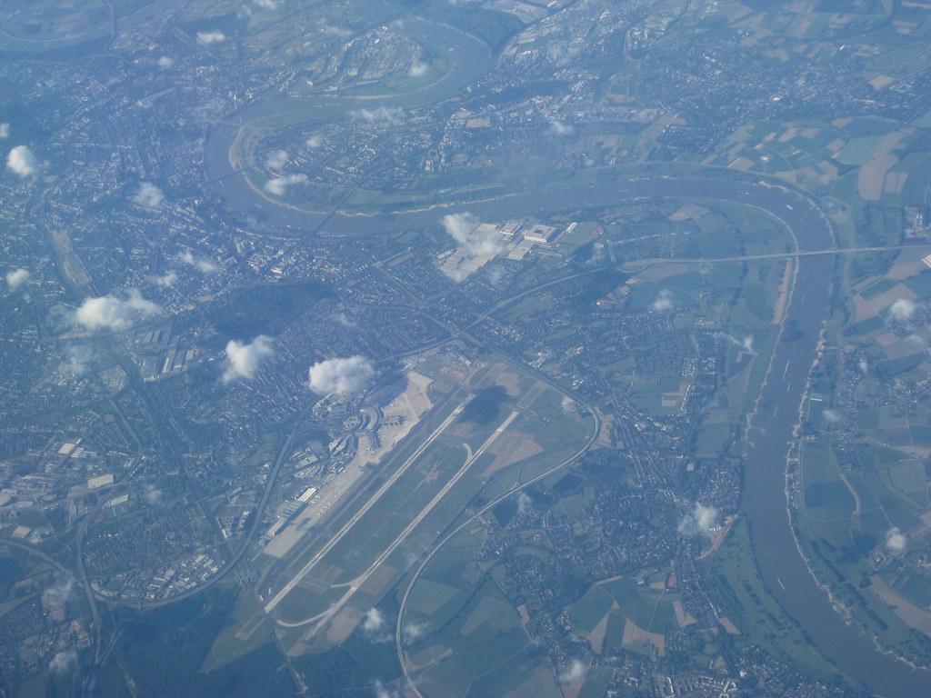 Over Düsseldorf, Germany