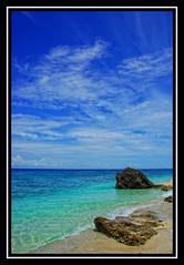 ANTULANG RESORT (RAJ BELLEZA) Tags: ocean beach clouds quiet peaceful bluesky serene whitesand rockformation negrosoriental clearwaters antulangresort malufet garbongbisaya photographersclubofcebu