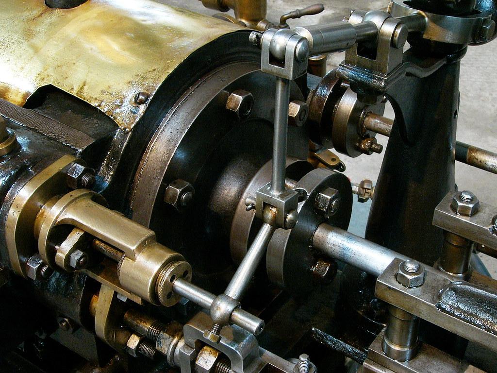 Machine à vapeur Merlin