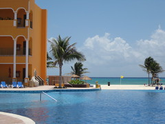royal hacienda's infinity pool