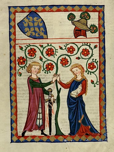 016- Bergner von Horheim-Codex Manesse