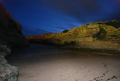 Cales Piques - Menorca (Elena Mate) Tags: playa nocturna menorca cala losdelfines calespiques
