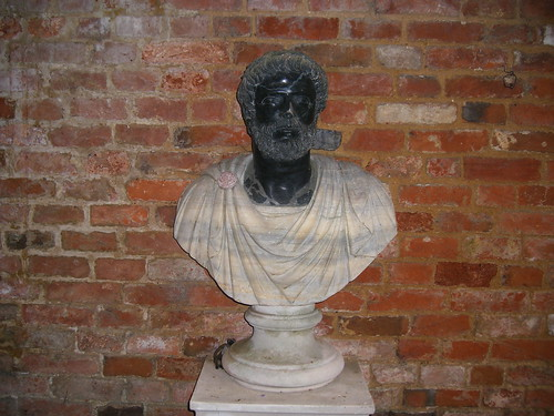 A bust - Cottesbrooke Hall