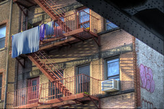 Classic Escape (JNW Photography) Tags: nyc fireescape hdr