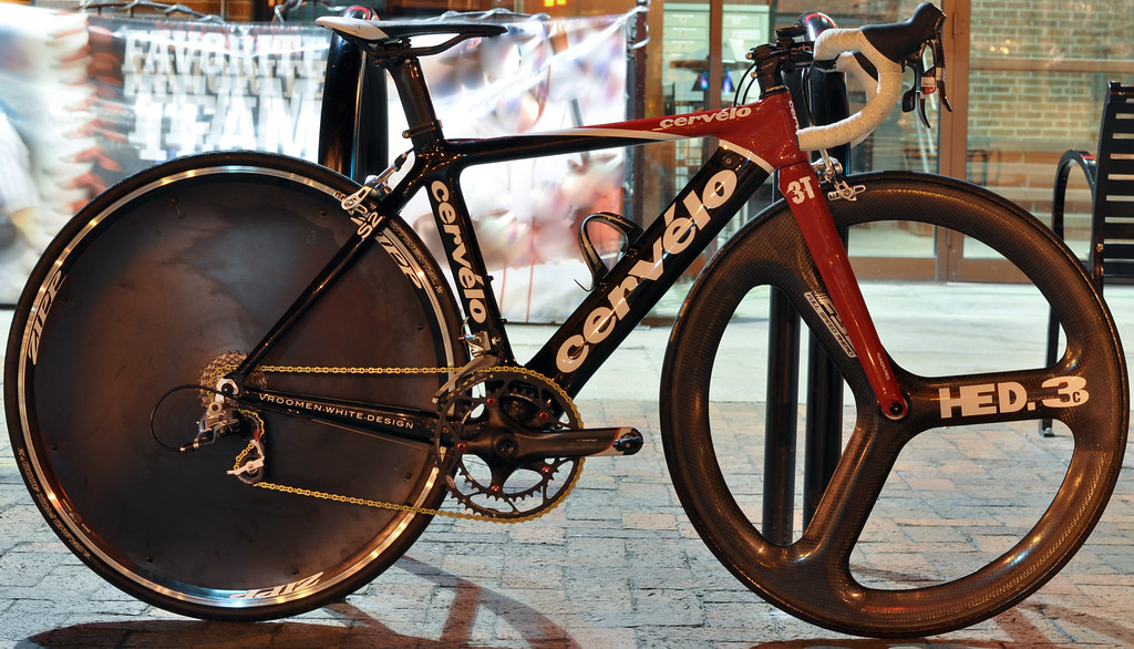 Cervelo S2 with Hed 3