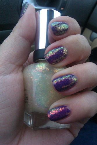 OPI Funky Dunky + SH Hidden Treasure