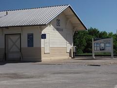 SX10-IMG_0775 (old.curmudgeon) Tags: santafe sign texas amtrak depot cottonbelt atsf 5050cy slsw