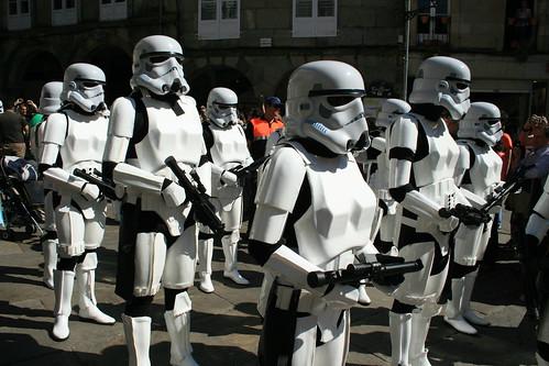 Desfile Star Wars en Santiago de Compostela