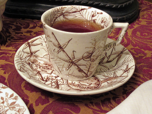 Eastlake Teacup and Saucer