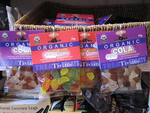 Organic Vegan Tutti Frutti and Cola Candies