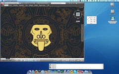 AutoCAD 2011 on a Mac in Parallels 5 Crystal mode