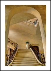 Caen (@lain G) Tags: france pierre normandie escalier calvados mairie caen hteldeville leuropepittoresque