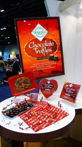 Elmer Tabasco Chocolate Truffles Display