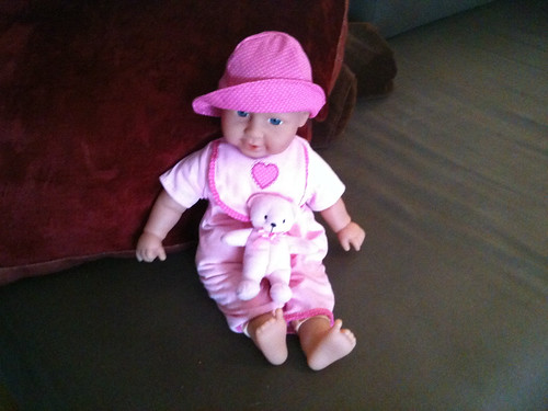 Gustens nya bebis