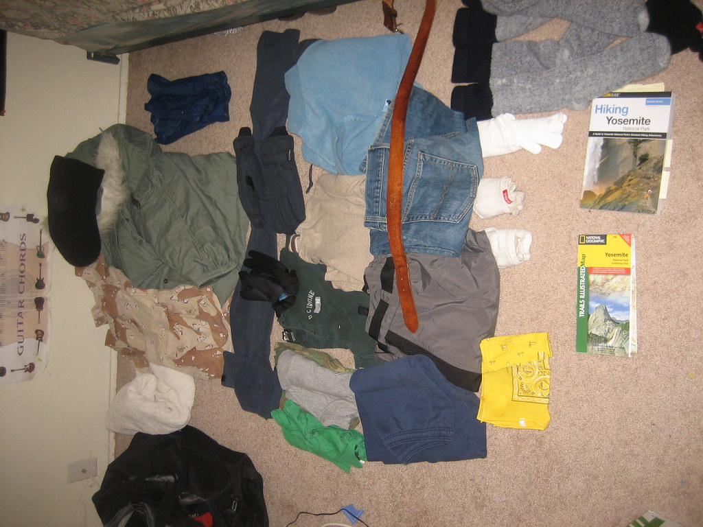 Yosemite Camping - clothing