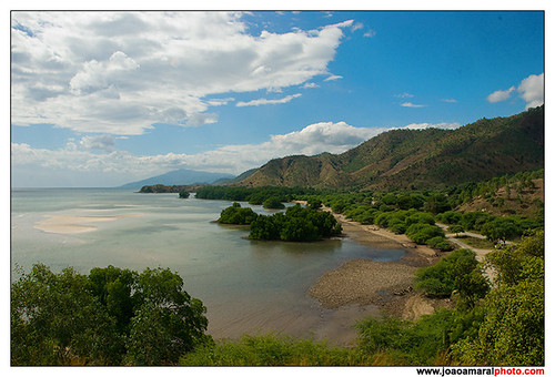 East Timor Coast View by joaoamaralphoto