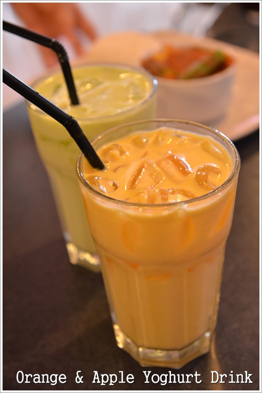 Orange & Apple Yoghurt Drinks