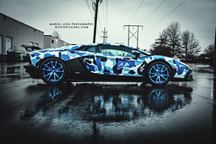 BAPE AVENTADOR (Marcel Lech Photography) Tags: vancouver liberty photography marcel walk flames wheels performance camo lamborghini lb epic ipe exhaust lech v12 bape innotech forgiato aventador flamethrow lp700