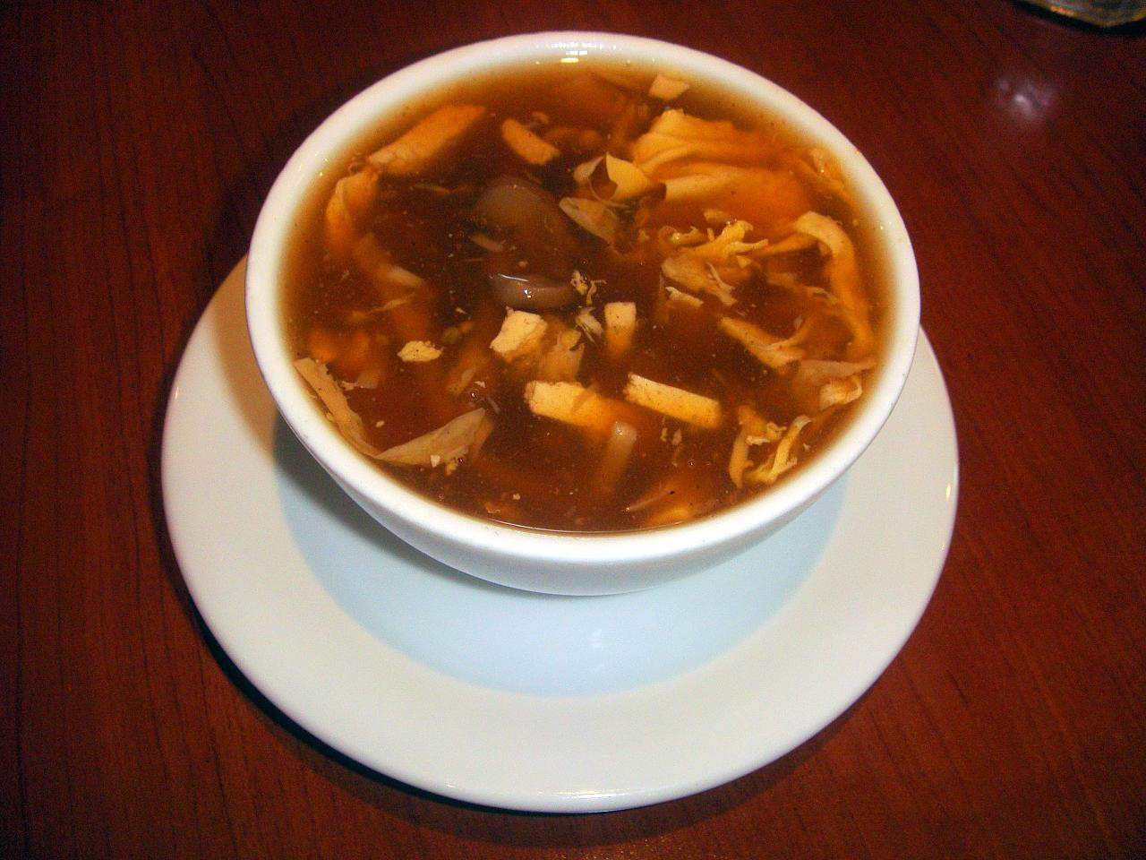 Sweet And Sour Soup Cantonese-style hot and sour soup recipes ...