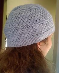 amanda hat, back