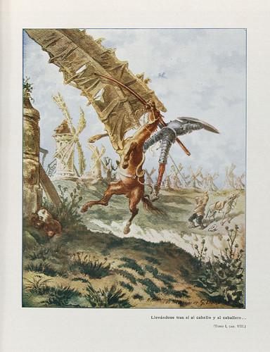 029-El ingenioso hidalgo Don Quijote de la Mancha 1905 - acuarelas de Salvador Tusell